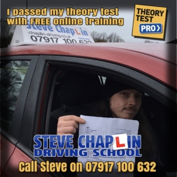 Nick Billingsley from Ilkeston PASSED the car driving theory test on 28/08/2019 after getting FREE access to Theory Test Pro