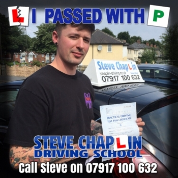 Adam Fletcher from Ilkeston PASSED on 16/07/2019 at Chilwell Driving Test Centre