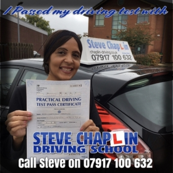 Cherylynne Freestone from Ilkeston PASSED on 15/10/2019 at Chilwell Driving Test Centre