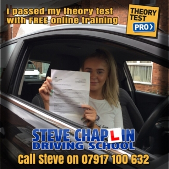 Megan Wallbanks from Eastwood, Nottinghamshire PASSED the car driving theory test on 30/04/2019 after getting FREE access to Theory Test Pro