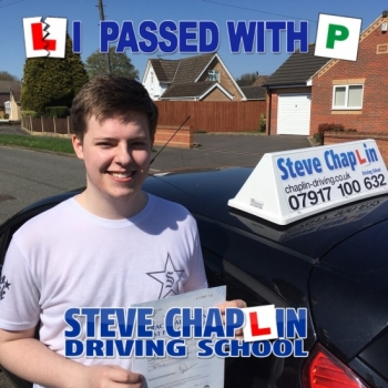 Aaron Trueman from Ilkeston PASSED on 20/04/2018 at Watnall Driving Test Centre