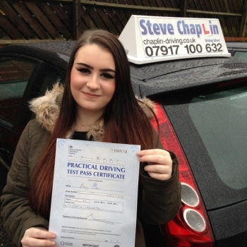 Amy Eleanor Scott from Ilkeston PASSED on 09/03/2016 at Watnall Driving Test Centre