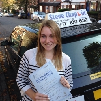 Annie Raynor from Ilkeston PASSED on 17/09/2015 at Watnall Driving Test Centre