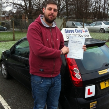 Ash Fletcher from Ilkeston PASSED on 19/01/2015 at Watnall Driving Test Centre