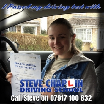 Ellie Webster from Heanor PASSED on 19/02/2020 at Watnall Driving Test Centre