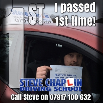 Nick Billingsley from Ilkeston PASSED on 22/11/2019 at Watnall Driving Test Centre