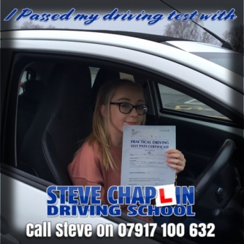 Claudia Cresswell from Ilkeston PASSED on 22/11/2018 at Watnall Driving Test Centre