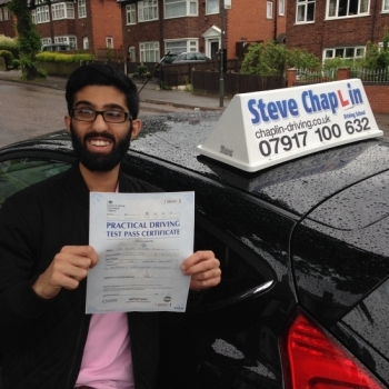Bilal Khalil from Nottingham PASSED on 28/06/2016 at Watnall Driving Test Centre