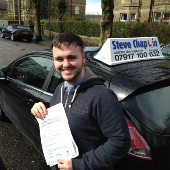 Bradleigh Henshaw from Ilkeston PASSED on 29/03/2016 at Buxton Driving Test Centre