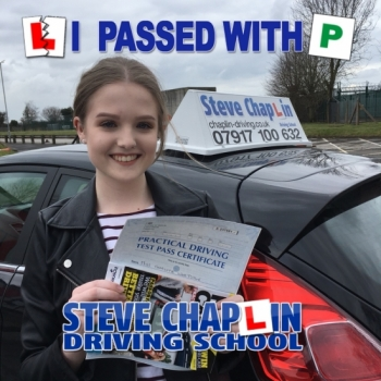 Charlotte Whetstone from Ilkeston PASSED on 20/03/2018 at Watnall Driving Test Centre