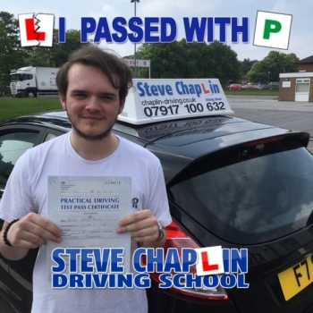 Conor Busby from Ilkeston PASSED on 01/06/2018 at Watnall Driving Test Centre
