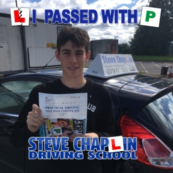 Ethan Bexon from Ilkeston PASSED on 21/09/2018 at Watnall Driving Test Centre