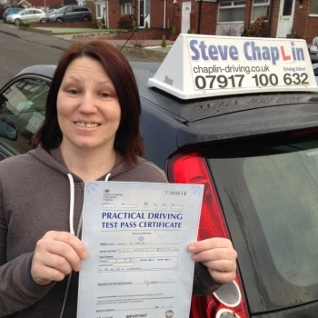 Dawn Salih from Ilkeston PASSED on 21/01/2016 at Watnall Driving Test Centre