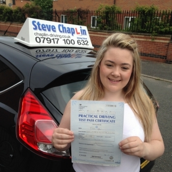 Ellie Griffiths from Heanor PASSED on 07/07/2016 at Watnall Driving Test Centre