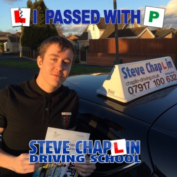 Greg Henshaw from Ilkeston PASSED on 19/01/2018 at Watnall Driving Test Centre