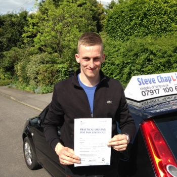 Harrison Parker from Kimberley, Nottinghamshire PASSED on 13/05/2015 at Watnall Driving Test Centre