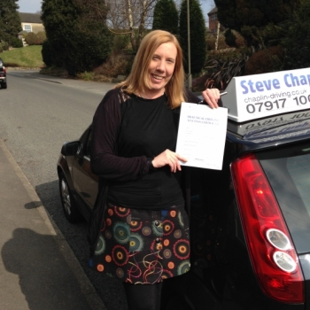 Hayley Bradley from Derbyshire PASSED on 18/03/2015 at Watnall Driving Test Centre
