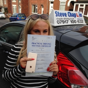 Lauren Wareham from Heanor PASSED on 06/05/2016 at Watnall Driving Test Centre