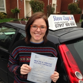 Layla Booth from Derbyshire PASSED on 08/01/2016 at Watnall Driving Test Centre