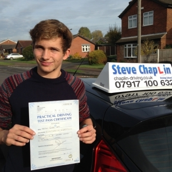 Matt Heath from Heanor PASSED on 31/10/2016 at Watnall Driving Test Centre