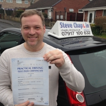 Michael Alan Byrne from Nottingham PASSED on 10/03/2016 at Watnall Driving Test Centre