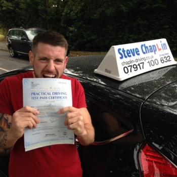 Nathan Town from Newthorpe, Nottinghamshire PASSED on 12/10/2016 at Watnall Driving Test Centre