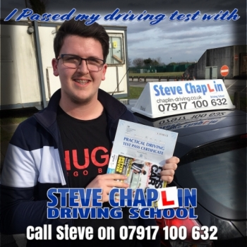 Sam Dawkins from Ilkeston PASSED on 21/03/2018 at Watnall Driving Test Centre