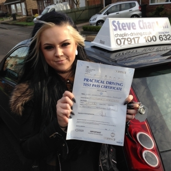 Samantha Fletcher from Ilkeston PASSED on 28/01/2016 at Watnall Driving Test Centre