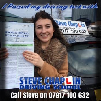 Stacey Annable from Kimberley, Nottinghamshire PASSED on 11/01/2018 at Watnall Driving Test Centre