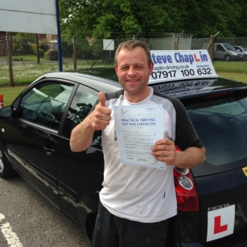 Vere Thorpe from Derbyshire PASSED on 21/05/2015 at Watnall Driving Test Centre